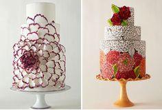 Hand painted wedding cakes betsyrocket