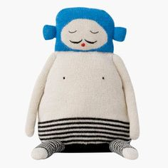 Just arrived: Balthazar knitted doll by LuckyBoySunday * www.the-pippa-and-ike-show.com