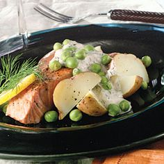 Salmon-Potato Salad With Lemon-Dill Dressing Recipe | MyRecipes.com Mobile