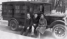A travelling library often used to provide books to villages and city suburbs that had no library buildings, the bookmobile went from a simp...