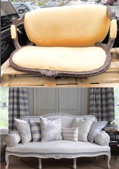If you have a piece of upholstered furniture that's past its prime, you probably considered reupholstering it yourself. This might feel like a complex project that's not for the faint-hearted but it's totally doable with a bit of elbow grease. There are numerous ways to reupholster furniture as well as materials to choose from but ... Read More about  How To Reupholster Furniture – 20 Detailed Tutorials