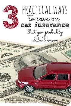 3 practical ways to save on car insurance! Did you know about these tips? I didn't.  #ad  how to buy insurance, insurance buying tips #financialplanning