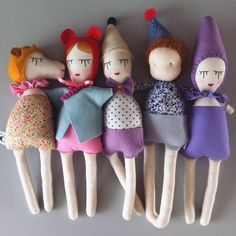 { ON THE BLOG } An interview with doll maker Sophia @studioescargot  I love hearing people's stories and how life events helped them craft a life of purpose and intention. Enjoy the read  by hippieindisguise