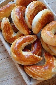 Bratislavské rožky Quick Recipes, Bread Recipes, Sweet Recipes, Baking Recipes, Slovak Recipes, Czech Recipes, Bread Dough Recipe, My Favorite Food, Favorite Recipes