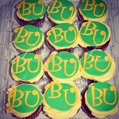 Graduation Cupcakes! Baylor University