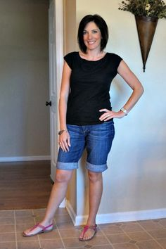 how to pair black and denim #30daysofsummeroutfits