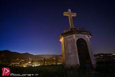 https://flic.kr/p/sMHGnj | Croce ai Caduti monte Aronne Aranco | Panorama notturno
