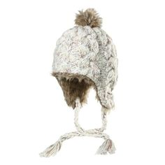 Chaos - Beautiful Knitted Hats 100% Acrylic Luxury Cable Knit Soft Faux Fur  Pom Full. Snow SkiingSki ... 38154055fd8