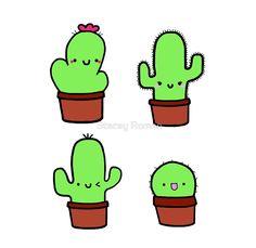 Little Pricks! cactus, cute, cacti, cute cactus, desert, sand, pricks, needles…