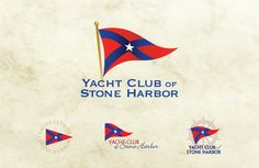 Yacht Club, Logo Design Inspiration, Graphic Design, Play, Stone, Paintings, Rock, Stones, Batu