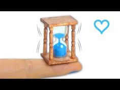 Miniatura de reloj de arena DIY - Tutorial ♡ - YouTube