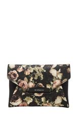 Beautifully classic and romantic | GIVENCHY Medium Antigona Envelope Clutch in Floral www.FORWARDbyelysewalker.com