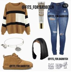 Source by Mudweisergirl outfits baddie Baddie Outfits For School, Swag Outfits For Girls, Cute Lazy Outfits, Cute Swag Outfits, Teenage Girl Outfits, Komplette Outfits, Teen Fashion Outfits, Girly Outfits, Trendy Outfits