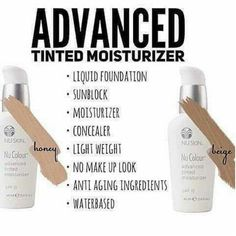 NU Skin Advance Tinted Moisturizer 💋 can be used as 💄 everyday Moisturizer 💄 Concealer 💄 Primer 💄 Foundation 💄 Sunblock 💋 Available in Beige and Honey ti Tinted Moisturizer, Moisturiser, Acne Marks, Love Your Skin, Healthy Skin Care, Liquid Foundation, Beauty Secrets, Beauty Ideas, Cc Cream
