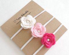 Diadema flor en ramillete perla se sentía  elegir un Color