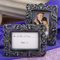 Baroque-Style Place Card Holder/Picture Frame Favors $1.49 each