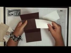 Secret Message Card with Dawn-tutorial on how to make the card