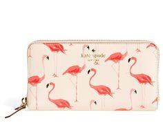 flamingo cedar street zip wallet // kate spade new york Fall Handbags, Handbags On Sale, Luxury Handbags, Designer Handbags, Designer Purses, Hermes Handbags, Burberry Handbags, Luxury Bags, Zip Wallet