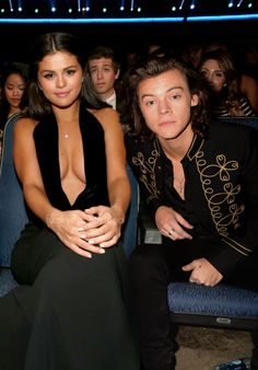 selena gomez and harry styles manips 2014 | Selena Gomez and Harry Styles at the 2014 American Music Awards