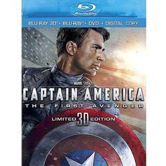 Captain America: The First Avenger (3D Blu-ray   Blu-ray   DVD   Digital Copy) (Widescreen)