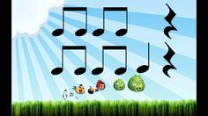 Play along rhythm: Angry Birds (Lectura rítmica) (+playlist)