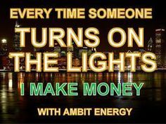 Looking to earn money? Become an Ambit Consultant.  Contact Lee Medina to join.  http://leem89.energy526.com  http://leem89.joinambit.com