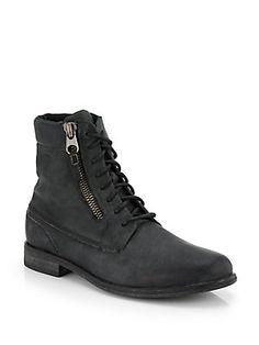 Diesel Beatstick Leather Jefferson Boots