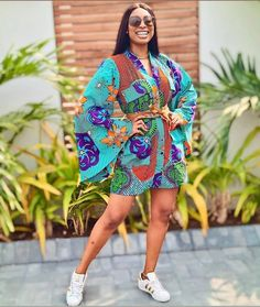 Simple Wrap Gown Ankara Short Gown Styles, Short Gowns, Ankara Gowns, Your Style, Personal Style, Cool Outfits, Style Inspiration, Simple, Cute