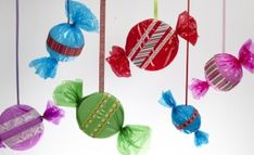 You are here: Projects > Winter > Christmas > Hanging Candy Decor Hanging Candy Decor Office Christmas Decorations, Candy Decorations, Christmas Projects, Christmas Themes, Christmas Ornaments, Hallway Decorations, Outdoor Christmas, Winter Christmas, Candy Land Christmas