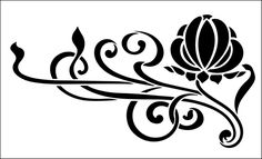 Motif No 82 stencil from The Stencil Library online catalogue. Buy stencils online. Stencil code DE275.