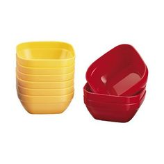 Microwave Square Bowls - 250ml -- Find out more details by clicking the image : Baking Tools and Accessories