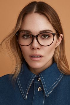 c2feb69ffafd Maripier Morin X BonLook collaboration. NADINE glasses in Sepia. Round  Glass, Collaboration,