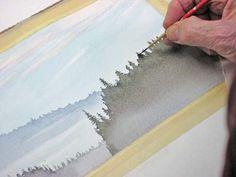 Misty morning paddle DEMO - WetCanvas