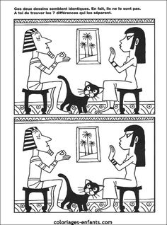 Jeux autour de l'Egypte