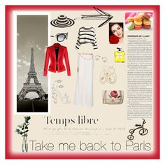 """I love Paris"" by mirandamir4 ❤ liked on Polyvore featuring moda, San Diego Hat Co., Topshop, Chanel, Balmain y LSA International"