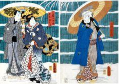 Utagawa Kunisada (Toyokuni III) - Kabuki Scene