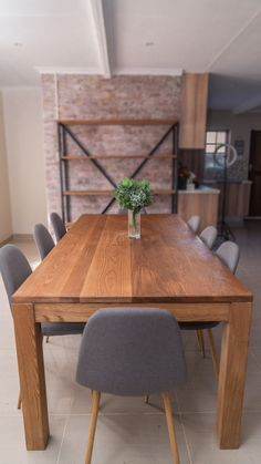 Oak Dining Room, Dining Room Table, Rustic, Furniture, Home Decor, Country Primitive, Dining Table, Farmhouse Style, Interior Design