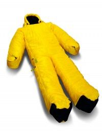 sleeping bag : looks like banana man