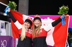 What Canada did: Wednesday, Feb. Kaillie Humphries, Bobsleigh, Two Men, Winter Olympics, Sports News, February 19, Athlete, Two By Two, Canada