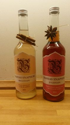 Homemade Apple & Christmas Schnapps with spices