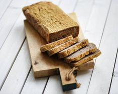 Buckwheat bread - Anna Lewandowska - healthy plan by Ann Gf Recipes, Healthy Recipes, Healthy Food, Buckwheat Bread, Gluten Free Diet, Banana Bread, Anna, Desserts, Healthy Foods
