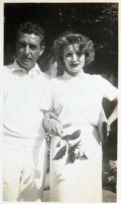 John Gilbert and Marlene Dietrich ca. 1936