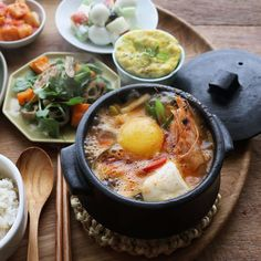 Korean Food, Chinese Food, Japanese Food, Good Food, Yummy Food, Asian Recipes, Ethnic Recipes, Hot Pot, Asian Cooking