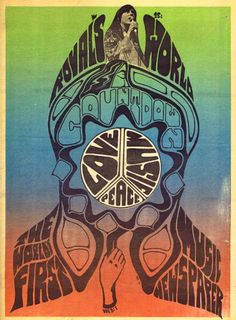 ☯☮ॐ American Hippie Psychedelic Art ~ World's First Music Newspaper - Love. Peace. Music. July 1967
