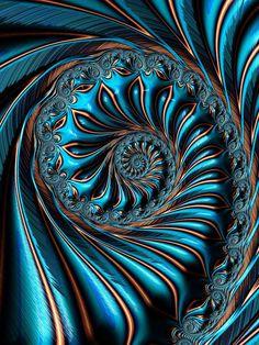 Gold Edged Digital Art by Amanda Moore