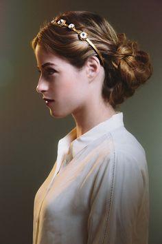 How to style the Rachel Zoe x Oscar de la Renta Swarovskin Crystal Headband | cynthia reccord