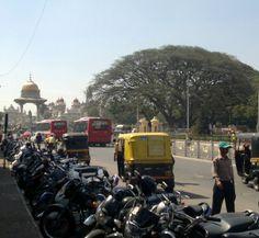 Mysore, on the road