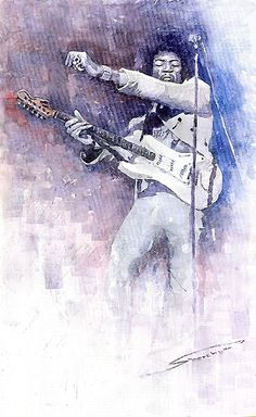Jazz Rock Jimi Hendrix 07a