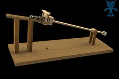 A Question Of Balance Wooden Toy - STEP / IGES,STL,SketchUp,Parasolid,SOLIDWORKS,OBJ,Autodesk 3ds Max - 3D CAD model - GrabCAD