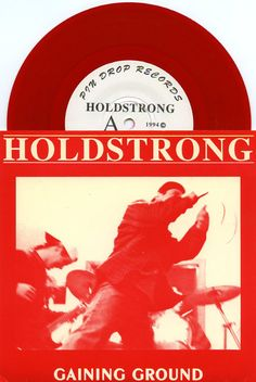 "HOLDSTRONG 1994 'GAINING GROUND' BOSTON PUNK HARDCORE 7"" RED VINYL NM RECORD  See all our Vinyl at Rock On Collectibles: http://stores.ebay.com/Rock-On-Collectibles/Vinyl-LPs-Singles-/_i.html?_fsub=7421951&_sid=70220124&_trksid=p4634.c0.m322"